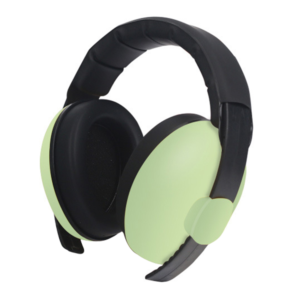 Ergonomic Adjustable Baby Earmuffs Sleep Slow Rebound Noise Cancelling Light Weight Durable Ear Hearing Protection Sound Safety