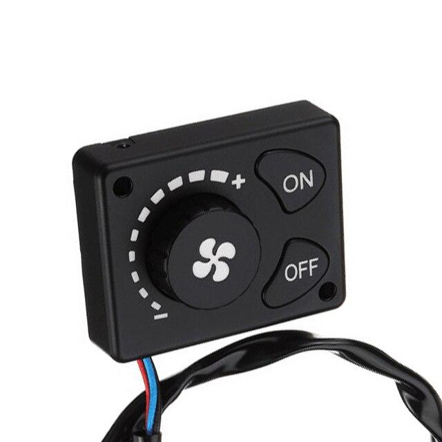 Nouveau bouton interrupteur 12V/24V Parking chauffage contrôleur télécommande pour voiture piste Air réchauffeur fournitures camion Air Diesel hiver