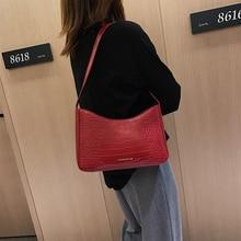 Fashion Pu Alligator Messenger Bags Women Crocodile Pattern Shoulder Bags Retro Women Letters Crossbody Bag Purses Lady Handbag цена 2017