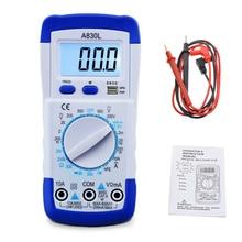1 個 A830L 液晶デジタルマルチメータ ac dc 電圧ダイオード freguency マルチテスター電流テスター発光ディスプレイブザー機能