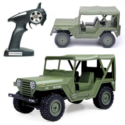 Henglong 1/14 2.4G US. M151 Millitary Jeep Model Car RTR Battery Vehicle LED TH09562