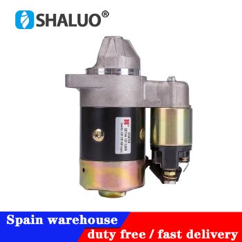 цена на QD114A Diesel Engine Motor Starter 12V 0.8KW Copper Used On 170F 178F 186F Engine Starter Motor Generator Parts DHL free