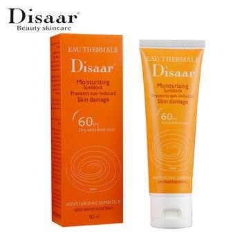 Disaar 顔ボディ日焼けホワイトニング太陽クリーム日焼け皮膚保護クリームアンチエイジングオイルコントロール保湿 SPF 60 + +