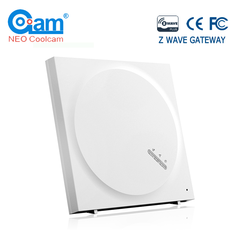 Z-Wave EU 868.4Mhz Gateway Smart Home Automation Hub Controller Home Monitoring Smart Devices Alexa Google Home IFTTT Compatible