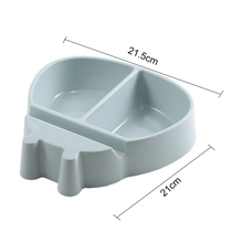 New 1 pcs nut bowl of dried fruit candy storage trash box support plate dish tray with mobile phone useful