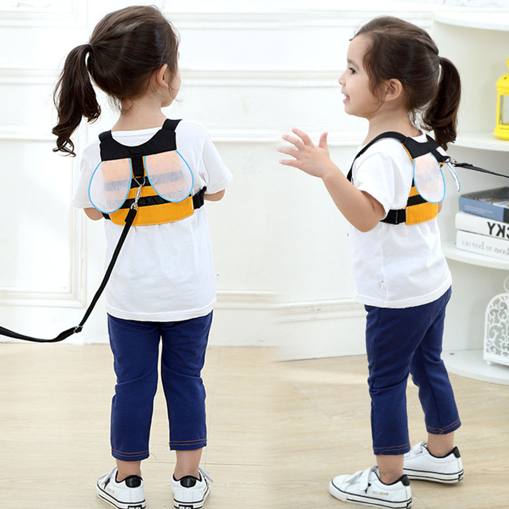 Baby Belt Travel Walking Handle Assistant Adjustable Protective Children Leash Anti Lost Safety Harness Wristband Traction Rope
