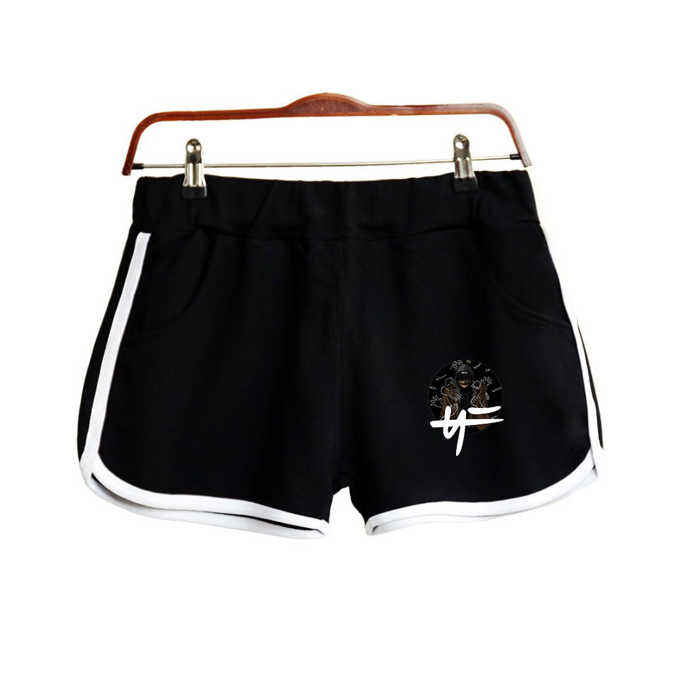 Rapper Nate Feuerstein New Album The Search NF 2019 NEW Print Women Shorts Clothes Harajuku Ladies Hot Sale Sexy Kawaii Shorts