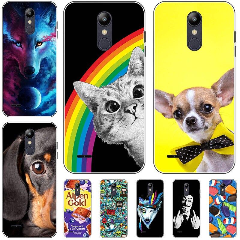 Чехол для телефона для LG K9/Aristo 2/Aristo 2 Plus/K8 2018/Tribute Dynasty/LV3 2018/Fortune 2/Rebel 3/Zone 4, Силиконовые мягкие чехлы