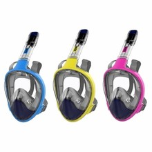Scuba Snorkeling-Mask Diving mask Full Face Masks Snorkeling Goggles Swimming Breathing Mask Anti-fog Adult Outdoor