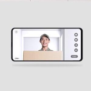 Image 5 - Youpin 제로 AI 얼굴 식별 720P IR 야간 투시경 비디오 초인종 세트 모션 감지 SMS 푸시 인터콤 무료 클라우드 스토리지