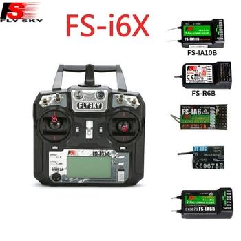 Flysky I6X FS-i6X 10CH 2.4G AFHDS 2A RC Transmitter control With FS-iA6B FS-iA10B FS-X6B FS-A8S IA6 A8S Receiver For Rc Airplane приемник flysky fs a8s ppm i bus sbus afhds
