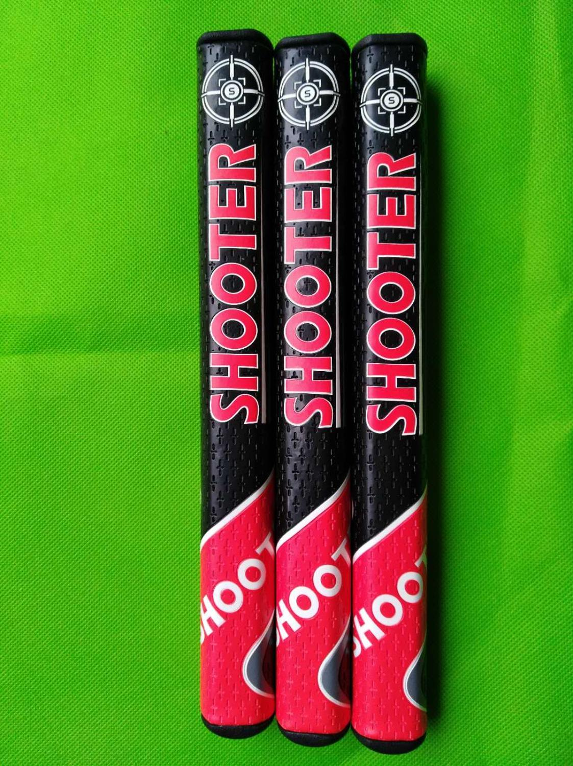 High Quality SHOOTER Slim 2.0 Black Red PU Leather Golf Putter Grip Club Putter Grip Free Shipping