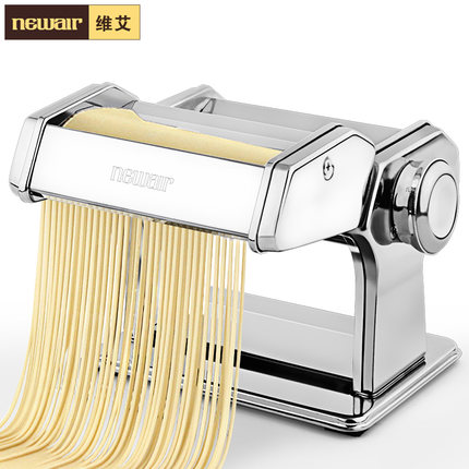 stainless steel household manual noodle machine pressing machine small split hand rolling dumpling dough for hele