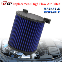 High-Flow Air Filter Fits for Audi A3 Volkswagen Caddy Golf Jetta Passat Skoda Octavia Seat Leon Washable Reusable Air Intake 03c133062a throttle body52mm for vw volkswagen audi a3 skoda octavia golf plus golf v jetta iii 1 4 1 6 802001846808 v10810088