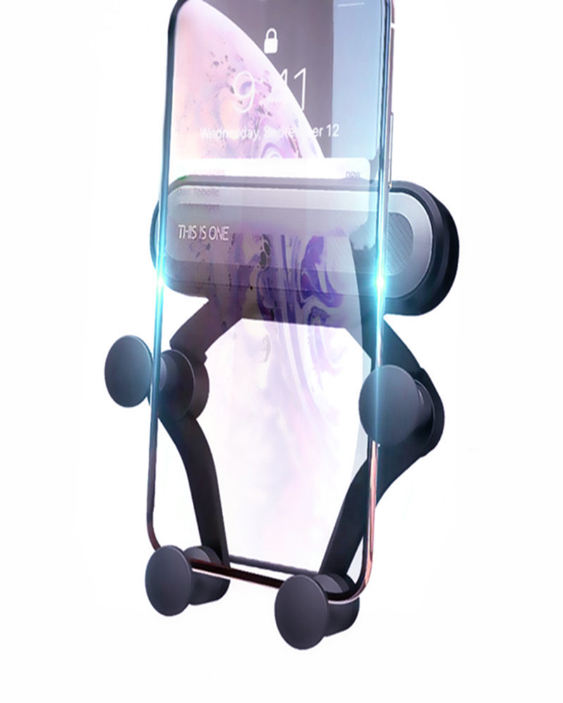 Universal-Gravity-Bracket-Car-Phone-Holder-Air-Vent-Mount-Stand-Clip-For-Smartphone-in-Car-Holder