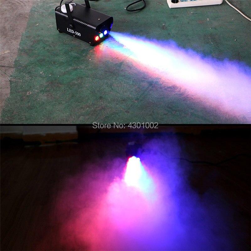Máquina de fumaça com controle remoto, frete