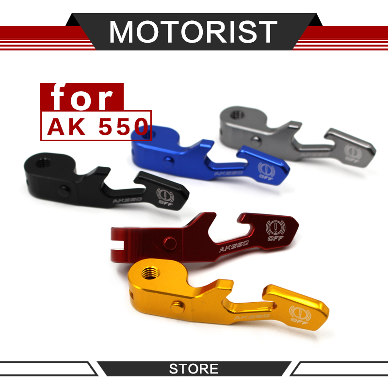 For <font><b>KYMCO</b></font> AK550 <font><b>AK</b></font> <font><b>550</b></font> 2017-2018 CNC Aluminum Handle Parking Brake Lever Motorcycle Accessories image