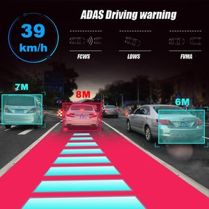 """Image 3 - A980 4G Android 8.1 ADAS 10"""" Stream Rear View Mirror Dash Cam Camera Car Camera Recorder Dvr Dashcam GPS Navigation 1080P WIFI"""
