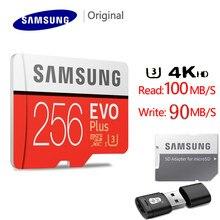 SAMSUNG-tarjeta Micro SD de 256GB, U3, 128 GB, 32GB, 64GB, tarjeta Flash SD/TF, tarjeta de memoria de 32, 64, 128 gb para teléfono