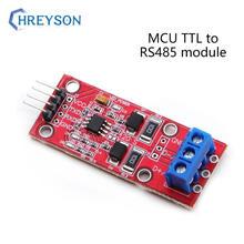 1 pces max3485 único microcomputador ttl para rs485 módulo mcu desenvolvimento acessórios 485 para porta serial uart conversão de nível