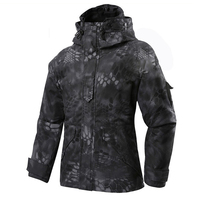 Winter jacket M 65 for men Typhon Hunting airsoft Softshell coat Windbreaker Men With Hoodie Ecwcs Field camping Hiking Jacket