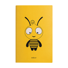 2020 A6 Kawaii Notebook Paper School Office Supplies Line Page Bee Hand Note Book Writing Meeting PU Leather Stationery for girl 100% high quality travelers notebook fiiler paper 3 types page paper 3 size page paper for travel notebook change school supplie