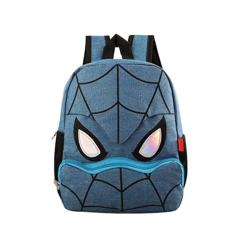 New 2020 Kids Backpack Nursery Baby Toddler Backpacks Kindergarten Boys Cartoon Hero Children School Bag Mochila Escolar