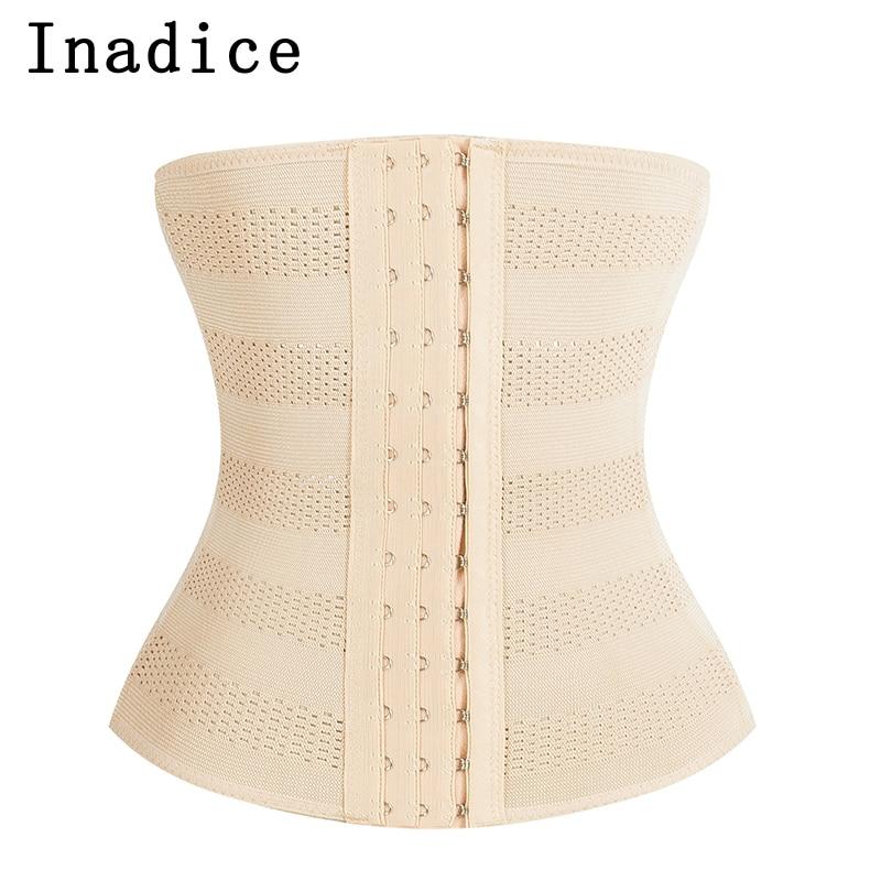 Inadice Polyester Elegant Corset Belt Wide Belt Solid Elastic Belt Men Slimming Belt Luxury Women Cummerbunds 2019 Clothing