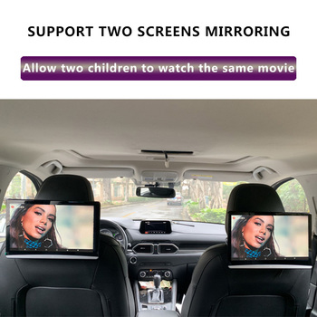 12.5 Inch Android 9.0 Car Headrest Monitor 1920*1080 4K 1080P Touch Screen WIFI/Bluetooth/USB/SD/HDMI/FM/Mirroring/Miracast 2