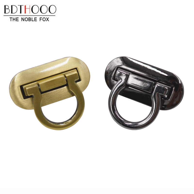 BDTHOOO 1 Pc High Quality Bag Lock Metal Clasp Turn Lock Twist Locks For DIY Handbag Craft Bag Purse Hardware Accessories
