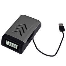 Smart Battery Charger With Lcd Display Fast Charging Rechargeable No.5 Aa7 Aaa