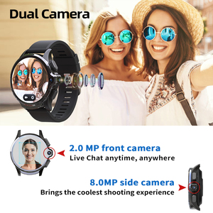 Image 5 - KOSPET PRIME SE 1GB 16GB ساعة ذكية relogio inteligente Men watch الذكية ووتش الرجال 1260mAh كاميرا ID 4G smart watch Android الروبوت wifi Bluetooth GPS Smartwatch 2020 ل Xiaomi Huawei Apple Phone