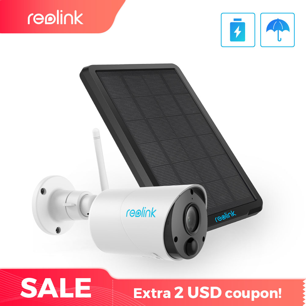 Reolink Argus Eco en Zonne energie Opladen WiFi Camera 1080P Full HD Beveiliging IP Cam Outdoor Indoor Video Surveillance met PIR-in Beveiligingscamera´s van Veiligheid en bescherming op AliExpress - 11.11_Dubbel 11Vrijgezellendag 1