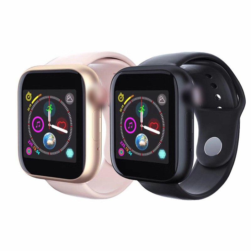 Z6 Android montre de téléphone intelligent hommes femmes Smartwatch Support 2G SIM TF carte avec moniteur de sommeil lecteur vidéo horloge enfants montres