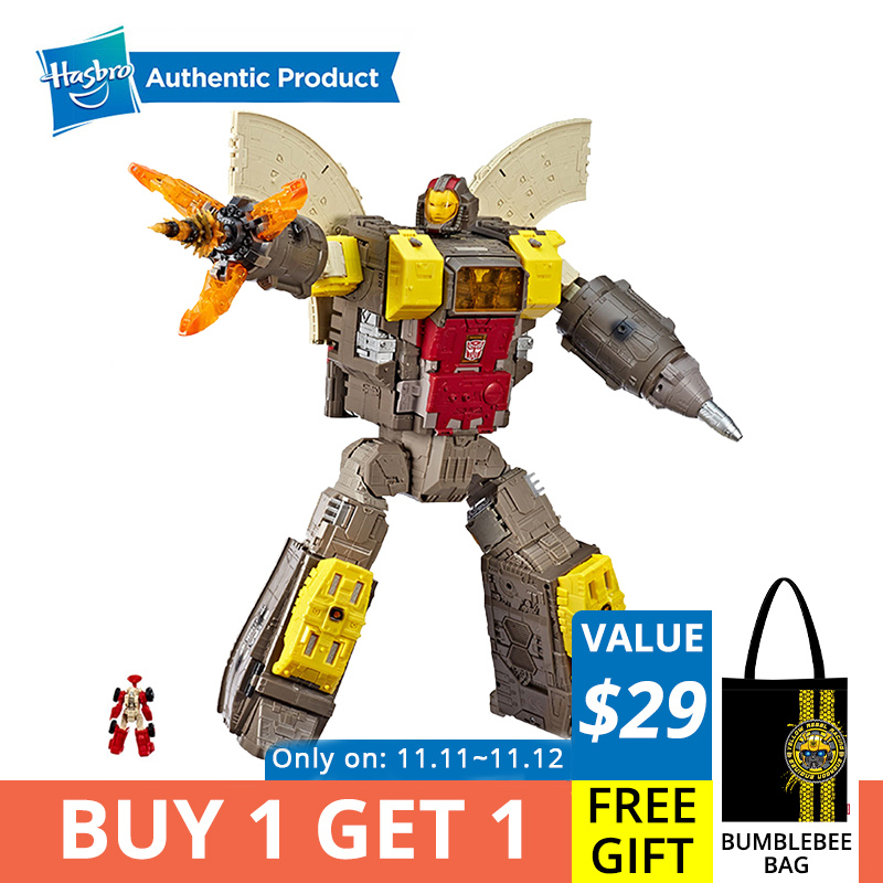 Hasbro Transformers Generations War For Cybertron Titan WFC-S29 Omega Supreme Action Figure Converts To Command Center 2-feet