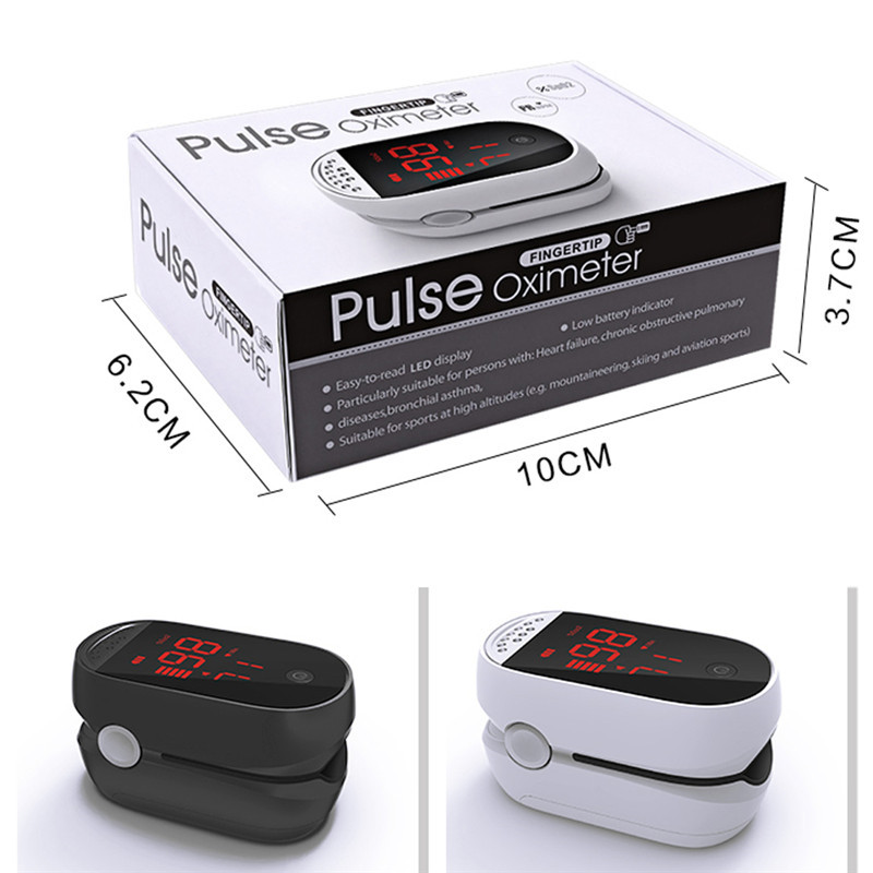 2019 New Monitor Finger Pulse Oximeter Blood OXygen Saturation Heart Rate Machine
