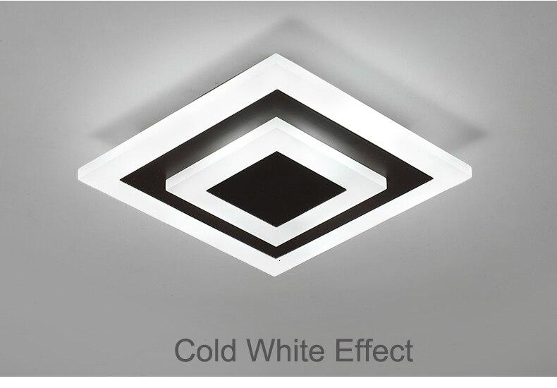 H9b144a392ed142e4aa677ce1a16014199 Modern ceiling lights 12w for hallway balcony corridor Coffe white light lamps bedroom luminaria teto acrylic lamparas de techo