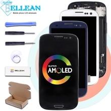 Catteny 4.7 Inch Dành Cho Samsung Galaxy Samsung Galaxy S3 LCD I9305 I9301 Màn Hình Bộ Số Hóa Cảm Ứng I9300 Màn Hình LCD Với Trung khung