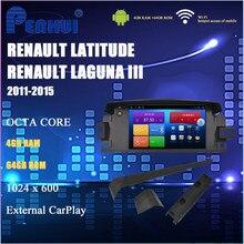 Dvd do carro para renault latitude laguna iii (2011-2015) rádio do carro reprodutor de vídeo multimídia navegação gps android10.0 duplo ruído