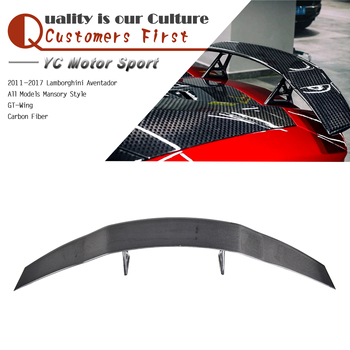 Car Accessories Carbon Fiber My Style GT-Wing Spoiler 2011-2017 Aventador All Models GT-Wing Spoiler