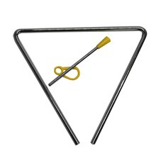 Металлический треугольник с палкой ритм раннее образование музыкальное обучение ударный инструмент игрушка для детей студентов детского сада