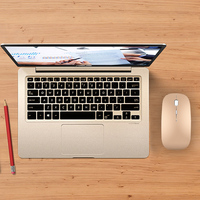 Rato silencioso recarregável do bluetooth para apple macbook ar para lenovo thinkpad para huawei matebook computador portátil computador portátil mouse