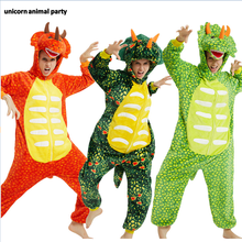 Kigurumi Onesies Men women Cosplay triceratops dragon halloween Christmas Party Pajamas Pyjamas costumes carnival costume pink unicorn cartoon animal onesies pajamas costume cosplay pyjamas adult onesies party dress halloween pijamas