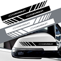 2 шт., наклейки на зеркало заднего вида для Chevrolet Cruze Lacetti Captiva SS Z71 Equinox Trax Spark Camaro Sonic Impala Sail Aveo