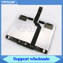 "Original Used Trackpad Touchpad With Flex Cable 593 1657 A For Macbook Pro Retina 13"" A1502 Late 2013 Mid 2014"