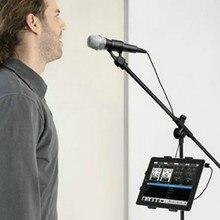 Держатель для планшета и держатель телефона для подставки для микрофона ABC пластиковое крепление для Apple Ipad для Iphone 4,5 10,5 электронная книга заднее сиденье автомобиля
