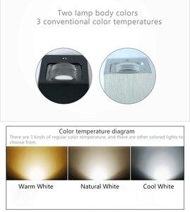 Image 3 - HA CONDOTTO LA Lampada Da Parete Impermeabile Indoor & Outdoor IP65 di Alluminio Su e Imbottiture Illuminazione 2x3W COB Portico Giardino camera da letto Bagno ZBD0020