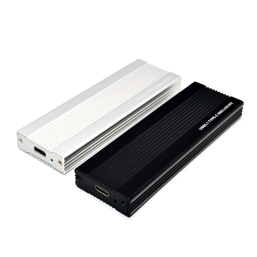 M2 <font><b>SSD</b></font> Case NVME <font><b>USB</b></font> <font><b>SSD</b></font> Enclosure <font><b>SSD</b></font> <font><b>Box</b></font> M.2 Case Adapter <font><b>USB</b></font> <font><b>3.1</b></font> Gen 2 External M 2 <font><b>Box</b></font> for NVME M Key 2242/2260/2280 M2 Case image