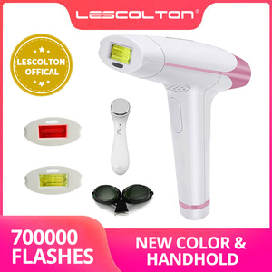 Image 1 - New Lescolton IPL Laser Hair Removal 1300000 Pulses 4in1 Epilator Machine for men worPermanent Bikini Trimmer Electric depilador