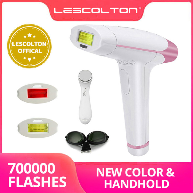 New Lescolton IPL Laser Hair Removal 1300000 Pulses 4in1 Epilator Machine for men worPermanent Bikini Trimmer Electric depilador
